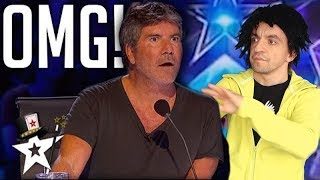 Download NEVER SEEN BEFORE! SHOCKING MAGIC TRICKS at Britain's Got Talent  - America's Got Talent (parody) Mp3 and Videos