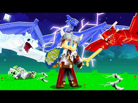 Minecraft MAIS 3 DRAGONS Ultra Cheat Détruisent le MONDE !