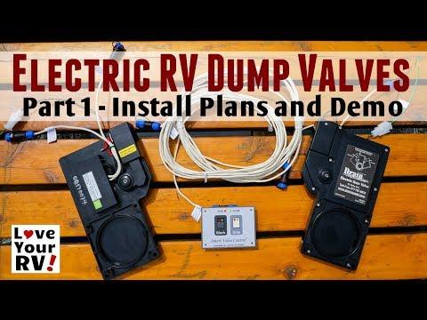 Installing Drain Master Electric RV Waste Tank Valves