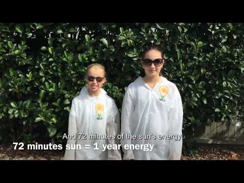 Can Solar Save Us? 2017 Sleek Geeks Science Eureka Prize Primary Highly Commended