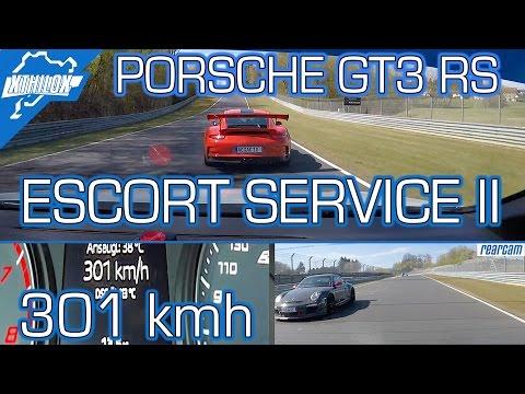 301 kmh with GT3 RS Escort Service - Leon Cupra - Nürburgring Nordschleife BTG