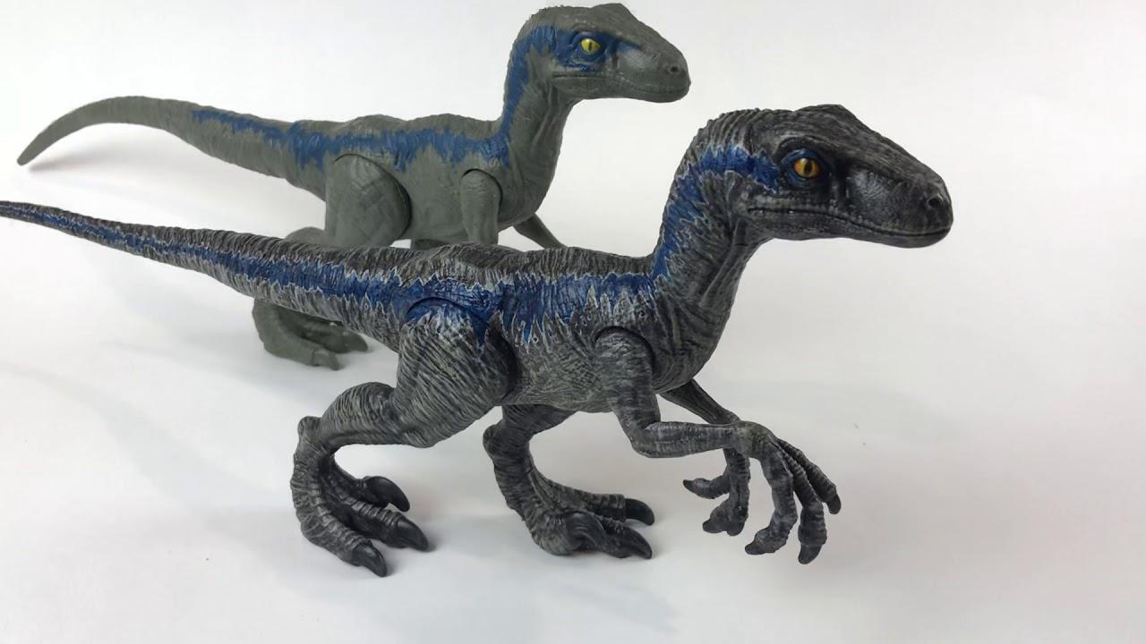 Fallen Kingdom Velociraptor Blue Pez Dispenser Repaint 2018 Jurassic World