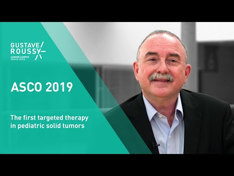 The first targeted therapy in pediatric solid tumors
