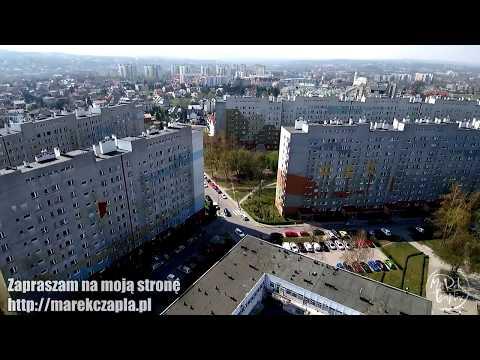 Piaski Nowe, Kraków z drona