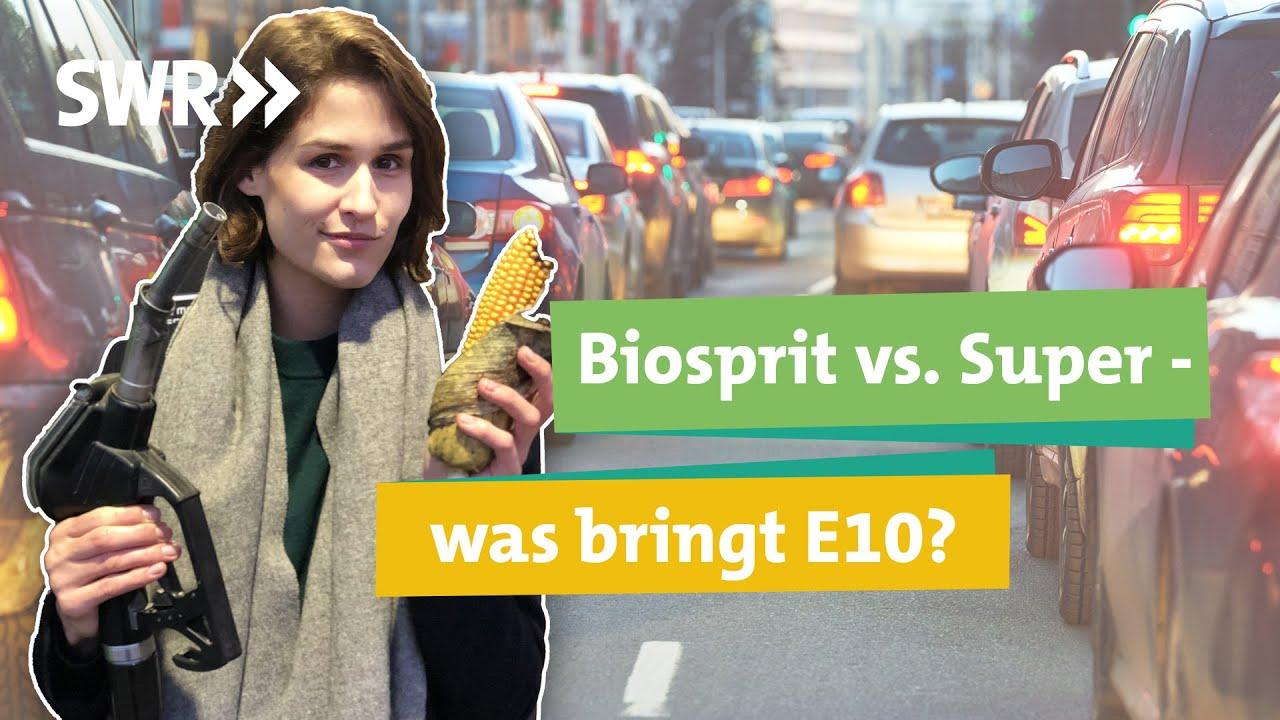 Download E10 nicht besser für die Umwelt als Super? Welches Benzin sollen wir tanken? I Ökochecker SWR