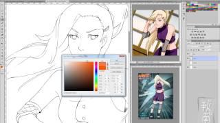 Рисование в стиле аниме в Photoshop CS6 часть 3 (наброски теней)(Предыдущие части: 1 - http://www.youtube.com/watch?v=c8rOS7Fdgj4&feature=share&list=TLYLoUyKms4llDebsuuX5ehmQpK-4simaY 2 ..., 2013-09-29T15:48:04.000Z)