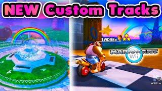 Beautiful *NEW* Custom Tracks in Mario Kart Wii CTGP (December 2020 Update)