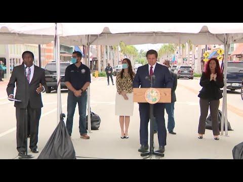 Miami-Dade, Broward Counties Joining Florida's Reopening Plan, DeSantis Says