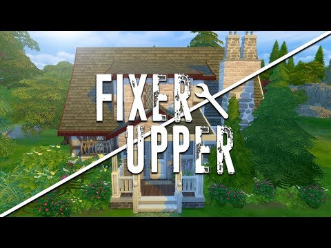 NOT SO FAIRY // The Sims 4: Fixer Upper - Home Renovation