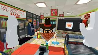Kaupan kassalla on ikävää olla - Job Simulator (HTC Vive)