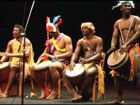 African folk music in Prague/CZ  2010