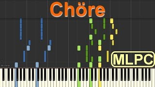 Mark Forster - Chöre I Piano Tutorial by MLPC