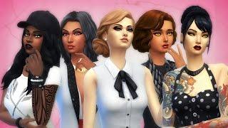The Sims 4 - VAMPIRE CLUB | Create a Sim