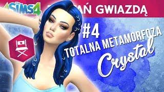 ⭐ Totalna metamorfoza Crystal ⭐ The Sims 4 Zostań gwiazdą ⭐