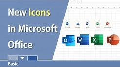 New Microsoft Office icons for the desktop by Chris Menard