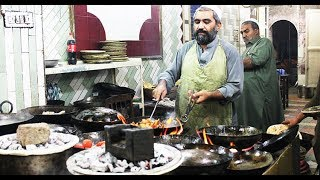 Peshawari Namkeen Gosht | Namak Mandi Karahi Gosht | Food Street Of Peshawar Namak Mandi