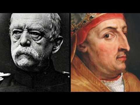 """Papst Nikolaus V. (1454) & Otto von Bismarck (1884) """"Afrika-kuchen"""""""