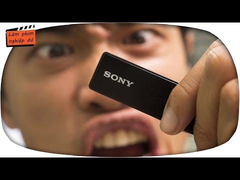 #35 Máy Ghi âm Cài áo Tốt Nhất Cho Vlogger ✅ Sony Icd Tx650