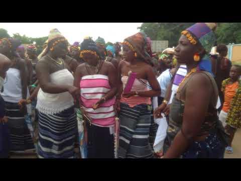 danse Kroubi à Mankono