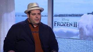 Frozen 2 actor Josh Gad discusses hit movie, South Florida sports