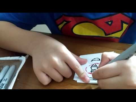 How to make a paper spinner/beyblade.