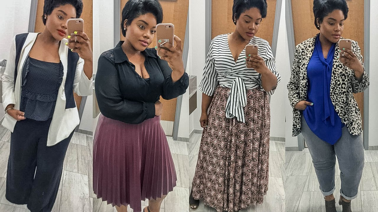 HOW TO DRESS FOR WORK: PLUS SIZE EDITION