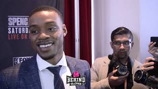 """""""THAT'S A HUGE FIGHT! I'M ROOTING FOR BIG BABY TO WIN!"""" ERROL SPENCE ON AJ VS MILLER!"""
