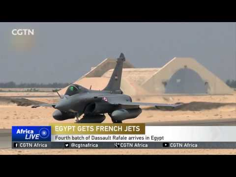 Egyptian army receives latest batch of French fighter jets