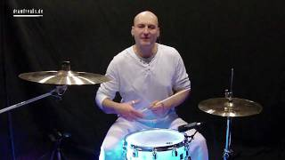 Schlagzeug lernen Anfänger - Military Shouts