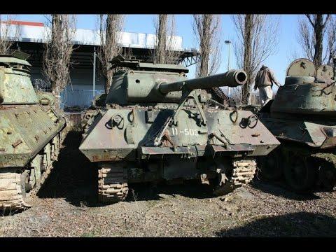 "WWII Tank Wrecks ""A secret location"""