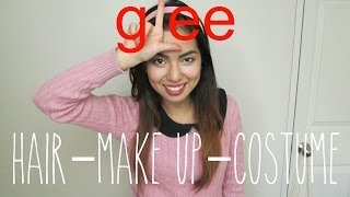Glee's Rachel Berry Costume, Make up & Hair Tutorial Thumbnail