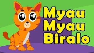 myau myau biralo yeta tira aau   म य उ म य उ ब र ल   nepali rhymes for children