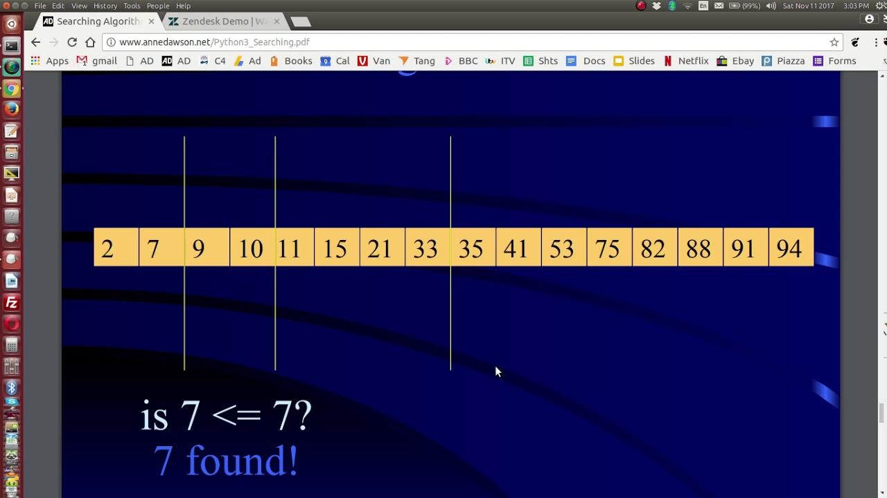Python List Binary Search