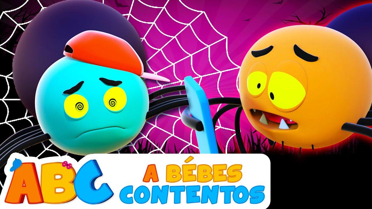 ABC Español | Cinco arañitas - Canciones infantiles divertidas