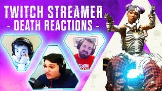 KILLING APEX LEGENDS TWITCH STREAMERS with REACTIONS! - Apex Legends Funny Rage Moments ep21