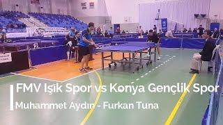Muhammet AYDIN 3 (FMV Işık Spor) - Furkan TUNA 0 (Konya Gençlik Spor)
