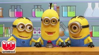 Minions STOP MOTION (Video) Minions Birthday 🔥 Stop Motion Animation | Toy Store - WildBrain