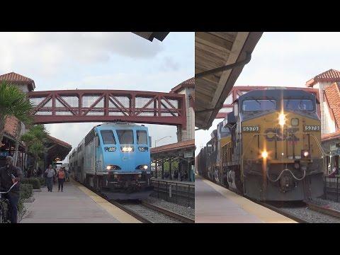 Easter Sunday South Florida Railfanning! Amtrak, Tri-Rail, And CSX Trains