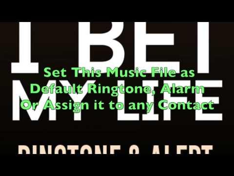 Imagine Dragons - I Bet My Life Ringtone and Alert