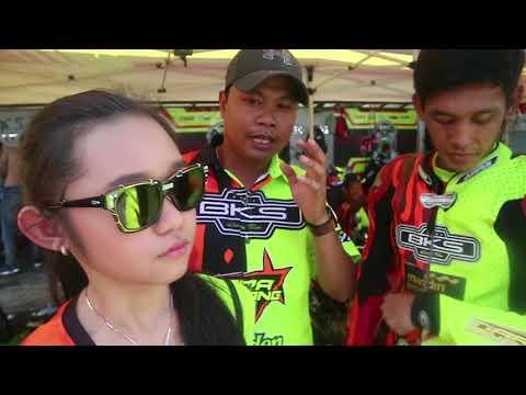 #Vlog Penyanyi Cilik Tiara Bintang Owner Tim BKS Di Motoprix Singkawang 2018