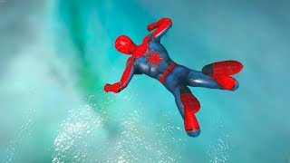 GTA 5 Water Ragdolls | SPIDERMAN Jumper/Falls Compilation ep...