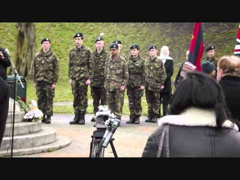 General Gordon Memorial Service 25/1/2013
