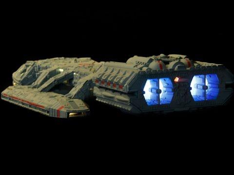 Galactica battleship