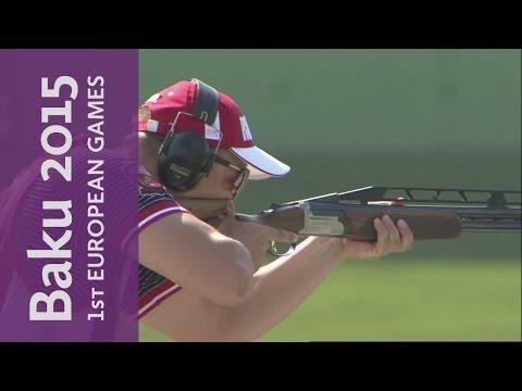 Men's Shooting Double Trap Final   Shooting   Baku 2015 European Games