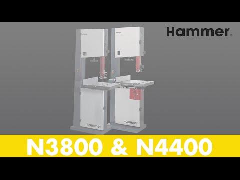 Hammer-Bandsägen N3800 und N4400