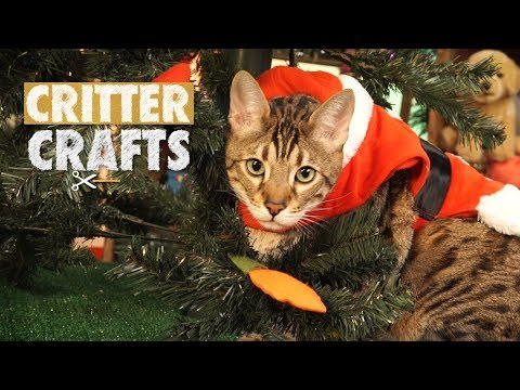 Critter Crafts | Cat-mas Tree