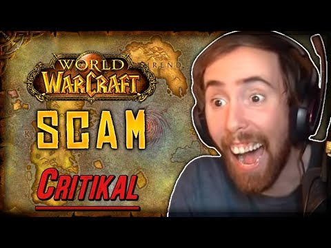 """Asmongold Reacts to """"World of Warcraft Is A Scam"""" by penguinz0"""