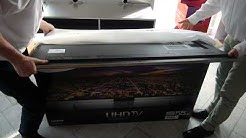 Samsung UE-55 HU 7590 UHD TV - Unboxing - Thomas Electronic Online Shop