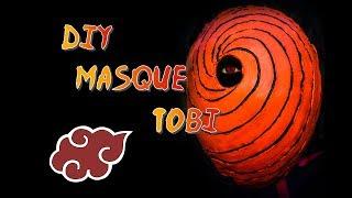 DIY : MASQUE TOBI  |  NARUTO SHIPPUDEN