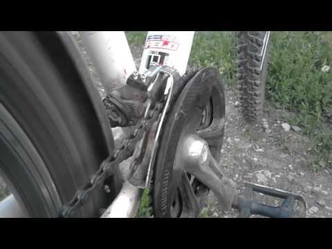 как отрегулировать цепь на велосипеде